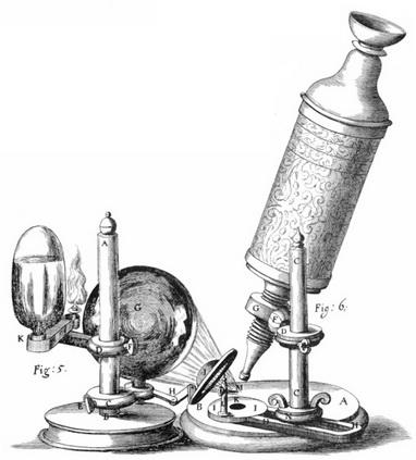 میکروسکوپ روبرت هوک